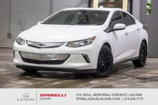 Used 2018 Chevrolet Volt PREMIER PHEV; CUIR CAMERA GPS AUDIO CARPLAY MAGS HYBRIDE RECHARGEABLE- NAVIGATION - CAMERA RECUL - AUDIO PREMIUM BOSE - SIÈGES CHAUFFANT  - MAGS 17'' for sale in Lachine, QC
