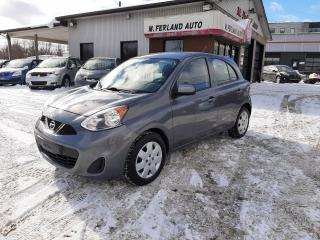 Used 2017 Nissan Micra SV à hayon 4 portes BA for sale in Sherbrooke, QC