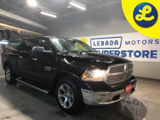 Used 2015 RAM 1500 Laramie CrewCab 4WD EcoDiesel * Navigation * Sunroof * Heated Front & Rear Leather Seats * 20 Chrome Rims * Leer Truck Cap W/ Lock * Remote Start * P for sale in Cambridge, ON
