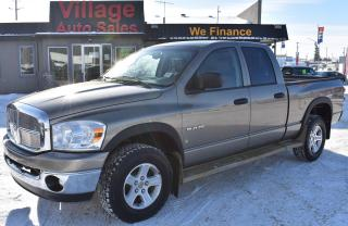Used 2008 Dodge Ram 1500 SLT CRUISE CONTROL! 4X4! AUX! for sale in Saskatoon, SK