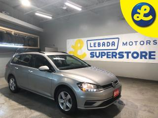 Used 2019 Volkswagen Golf Sportwagon 1.8T 4 Motion * DSG Transmission * Back Up Camera * Apple Car Play * Android Auto * Blind Spot Assist * Rear Traffic Assist * Cruise Control * Steerin for sale in Cambridge, ON