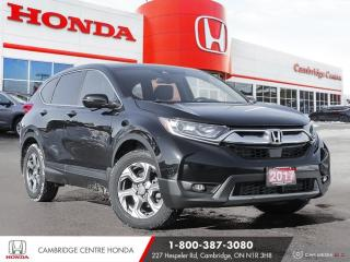 Used 2017 Honda CR-V EX-L HONDA SENSING TECHNOLOGIES | HEATED SEATS | APPLE CARPLAY™ & ANDROID AUTO™ for sale in Cambridge, ON