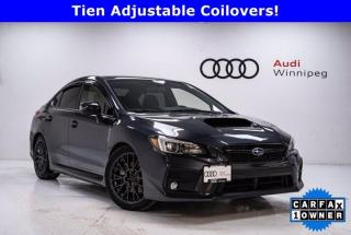 Used 2018 Subaru WRX Sport w/Winter Tires & Sunroof *Local Trade* for sale in Winnipeg, MB