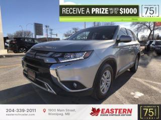 Used 2020 Mitsubishi Outlander   1 Owner   No Accidents   Backup Cam   Htd. Seats   for sale in Winnipeg, MB