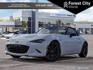 Used 2017 Mazda Miata MX-5 GS With Navigation! for sale in London, ON