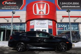 Used 2019 Honda Civic Sedan Sport CVT - BLIND SPOT CAMERA HEATED SEATS LANE KEEP ASSIST - for sale in Sudbury, ON