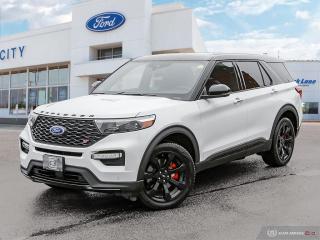 New 2021 Ford Explorer ST for sale in Winnipeg, MB