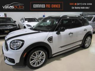 Used 2017 MINI Cooper Countryman Cooper S S| AWD| PANORAMIC RF| LEATHER for sale in Vaughan, ON