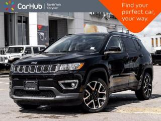 Used 2020 Jeep Compass Limited 4x4 Panoramic Roof Heated Seats & Wheel Navigation for sale in Thornhill, ON
