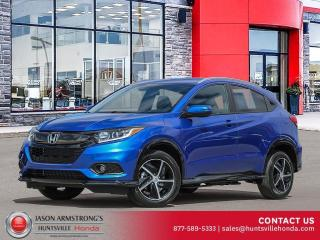 New 2021 Honda HR-V Sport for sale in Huntsville, ON