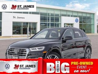 Used 2018 Audi Q5 Technik S-Line, One Owner, Backup Camera with 360 View, Panoramic Sunroof for sale in Winnipeg, MB