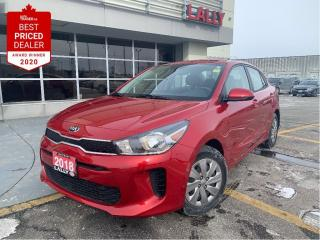 Used 2018 Kia Rio LX+ #One Owner #LOW kms #Htd Seats #Bluetooth for sale in Chatham, ON