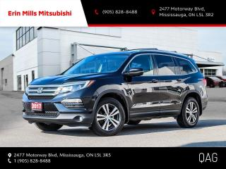 Used 2017 Honda Pilot EX-L Navi V6 EXL NAVI AWD|NO ACCIDENTS|LEATHER|ROOF|REAR CAM for sale in Mississauga, ON