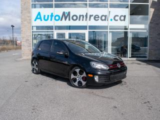 Used 2010 Volkswagen Golf GTI 5-Door Volkswagen Golf GTI Sunroof Automatic for sale in Vaudreuil-Dorion, QC