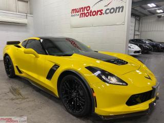 Used 2019 Chevrolet Corvette 2dr Z06 Cpe w-3LZ NPP NAV PDR MEM HUD Dual Roof for sale in St. George, ON