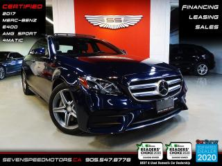 Used 2017 Mercedes-Benz E-Class E400 AMG 4MATIC DISTRONIC | MB WARRANTY | CERTIFIED | FINANCE | 9055478778 for sale in Oakville, ON