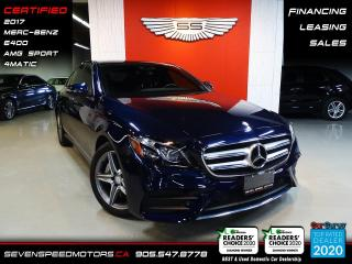 Used 2017 Mercedes-Benz E-Class E400 AMG 4MATIC | MB WARRANTY | CERTIFIED | FINANCE | 9055478778 for sale in Oakville, ON