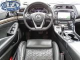 2016 Nissan Maxima PLATINUM, 360° CAMERA, HEATED & COOLED SEATS, NAVI
