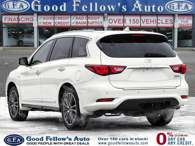 2017 Infiniti QX60 NA AWD, 7 PASS , DVD, 360° CAMERA, NAVI, SUNROOF
