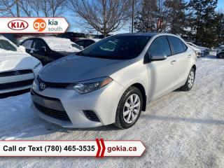 Used 2016 Toyota Corolla LE; AUTOMATIC, HEATED SEATS, A/C, BACKUP CAMERA, BLUETOOTH for sale in Edmonton, AB