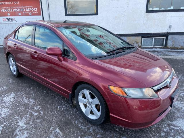 2008 Honda Civic EX-L ** HTD LEATH, SNRF, CRUISE **