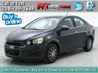 Used 2014 Chevrolet Sonic LT for sale in Winnipeg, MB