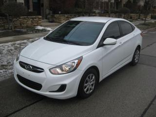 Used 2014 Hyundai Accent AUTO, CERTIFIED, NO ACCIDENTS, HEATED SEATS, LOW K for sale in Toronto, ON