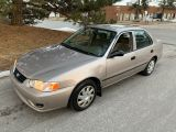 2002 Toyota Corolla CE PLUS-ONLY 162,557KMS! 1 LOCAL OWNER! NO CLAIMS!