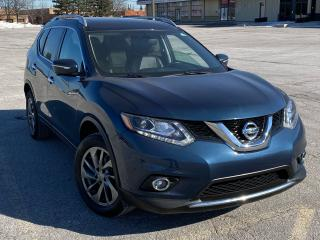 Used 2015 Nissan Rogue SL for sale in Brampton, ON