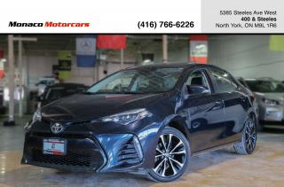 Used 2018 Toyota Corolla SE CVT - LEATHER|SUNROOF|BACKUP|HEATED SEATS for sale in North York, ON