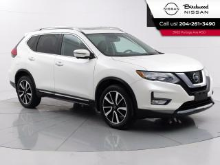 Used 2017 Nissan Rogue SL Platinum Reserve No Accidents, Fully Loaded, Remote Start, Moonroof for sale in Winnipeg, MB