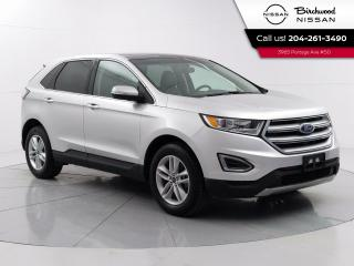 Used 2017 Ford Edge SEL Technology PKG Remote Start, Power Liftgate, Blind Spot, Navigation for sale in Winnipeg, MB