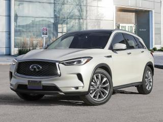 New 2021 Infiniti QX50 LUXE for sale in Winnipeg, MB