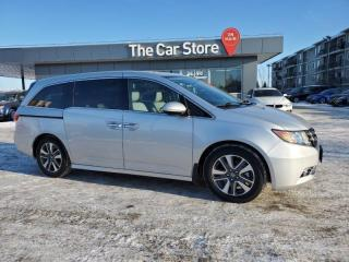 Used 2014 Honda Odyssey Touring w-DVD, Navi, All OPTIONS! MINT LOCAL CAR!! for sale in Winnipeg, MB