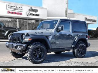New 2021 Jeep Wrangler Willy's for sale in Simcoe, ON