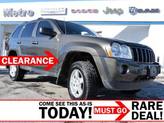Used 2006 Jeep Grand Cherokee Laredo 4X4 AS-IS for sale in Ottawa, ON