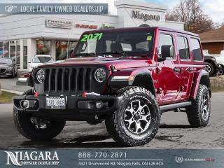 Used 2021 Jeep Wrangler Unlimited Rubicon DEMO for sale in Niagara Falls, ON