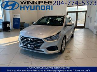 Used 2020 Hyundai Accent Preferred for sale in Winnipeg, MB