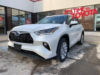 New 2021 Toyota Highlander HYBRID HYBRID LIMITED AWD Highlander Hybrid Limited - Pr| for sale in Mississauga, ON