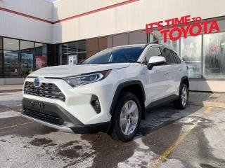 New 2021 Toyota RAV4 Hybrid LTD RAV4 HYBRID RAV4 Hybrid Limited|APX 00 for sale in Mississauga, ON
