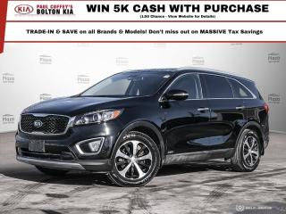 Used 2016 Kia Sorento EX V6 | BackUP CAM | Sunroof | PWR Seats | for sale in Bolton, ON