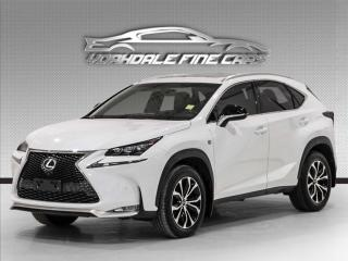 Used 2017 Lexus NX 200t F Sport 2, Navigation, Camera, No Accidents for sale in Concord, ON