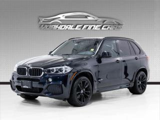 Used 2017 BMW X5 xDrive35i M Sport, Navigation, Camera, Panoramic for sale in Concord, ON