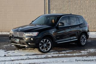 Used 2017 BMW X3 xDrive28i Saddle Leather Interior, One Owner for sale in St. Catharines, ON