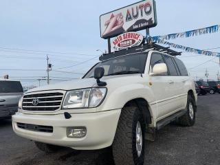 Used 2001 Toyota Land Cruiser for sale in Windsor, ON