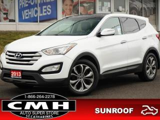 Used 2013 Hyundai Santa Fe Sport SE  CAM ROOF LEATH HTD-S/W 19-AL for sale in St. Catharines, ON