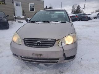Used 2003 Toyota Corolla CE for sale in Stittsville, ON