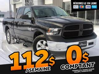 Used 2018 RAM 1500 SXT QUAD CAB V8 for sale in Ste-Marie, QC