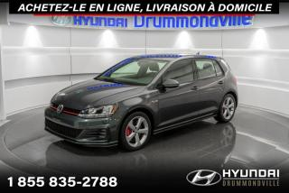 Used 2017 Volkswagen Golf GTI OBTENEZ UN VOLKSWAGEN GOLF GTI 2018  AU for sale in Drummondville, QC