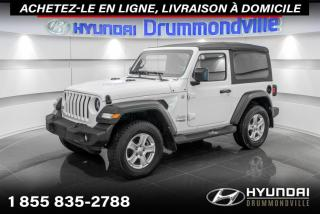 Used 2019 Jeep Wrangler SPORT S 4X4 +GARANTIE+A/C+CAMERA+WOW !! for sale in Drummondville, QC